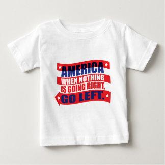 America: Go Left Apparel Shirts