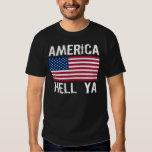 AMERICA HELL YA T SHIRTS