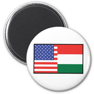 America Hungary Magnet