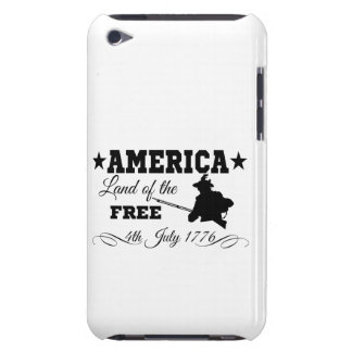 America - Land of the free iPod Case-Mate Cases