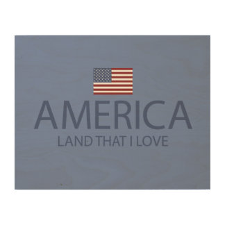 AMERICA LAND THAT I LOVE WALL ART