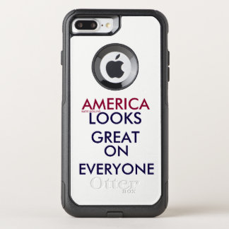 AMERICA LOOKS GREAT ON EVERYONE OtterBox COMMUTER iPhone 8 PLUS/7 PLUS CASE