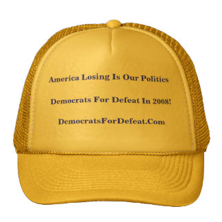 America Losing Is Our Politics Hat