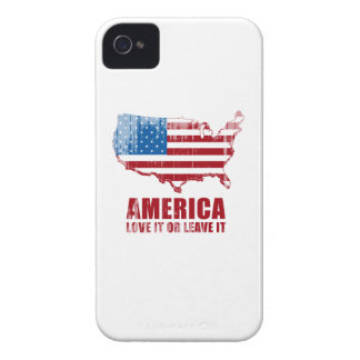 America. Love it or Leave it. Faded.png Case-Mate iPhone 4 Cases