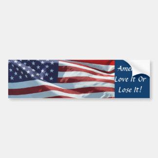 America Love It Or Lose It Bumper Stickers