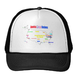 America Means Business Trucker Hats