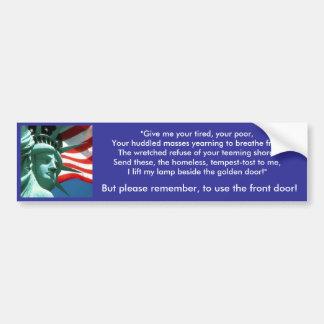 America - Melting Pot Bumper Sticker