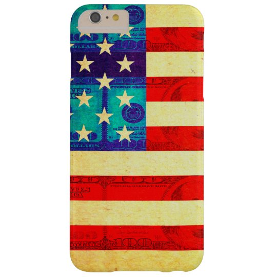America money flag barely there iPhone 6 plus
