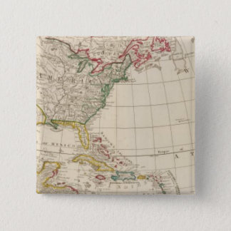 America north 15 cm square badge