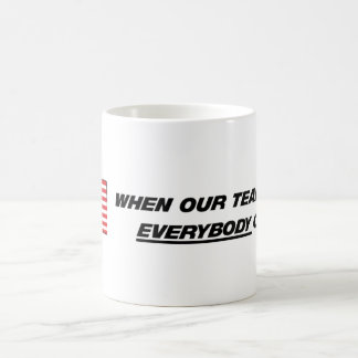 America - Our Team Basic White Mug
