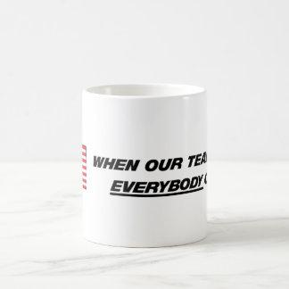America - Our Team Mug