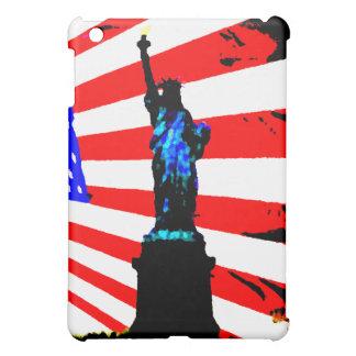 America Patriotic Statue of Liberty American Flag iPad Mini Covers