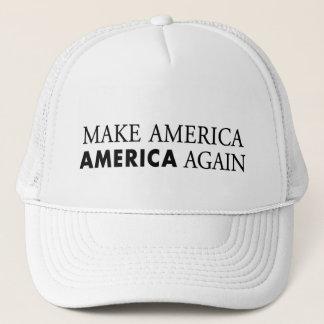 America patriotic trucker hat