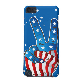 America Patriotic Victory Hand Fingers iPod Touch iPod Touch 5G Covers