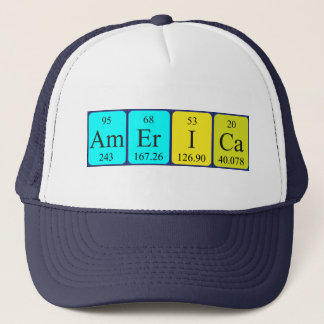America spelling elements periodic table gifts t shirts art america periodic table name hat urtaz Choice Image