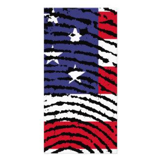 America Photo Card