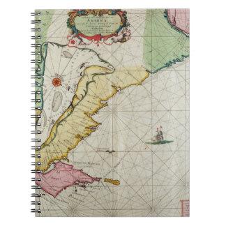 America, plate 17 from 'Le Nouveau et Grand Illumi Notebook