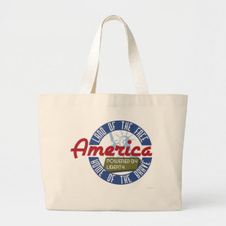 America Powered by Liberty - Tote Bag
