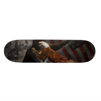 America Reborn Patriotic Bryan C. Smoak Skateboard