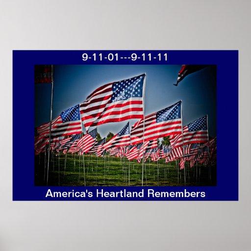 America Remembers Print