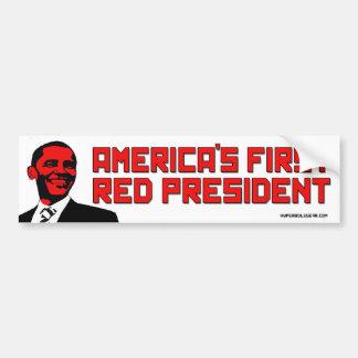 America s First Red President Bumper Sticker