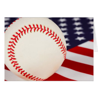 America s Pastime Greeting Card