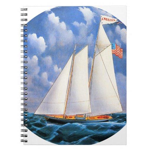 America Schooner Notebooks