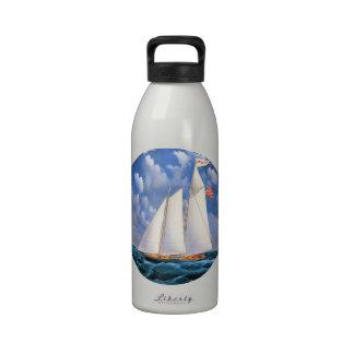 America Schooner Water Bottles