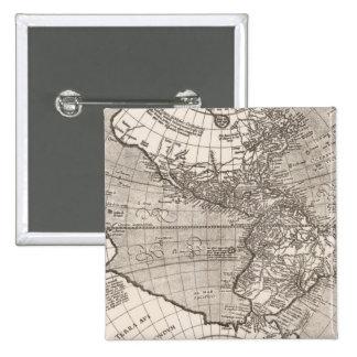 America sive India Novam, 1609 15 Cm Square Badge