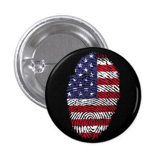America Small, 1¼ Inch Round Button