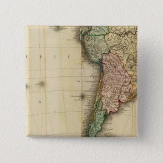 America south 15 cm square badge