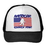America! Squatch Yeah! Mesh Hats