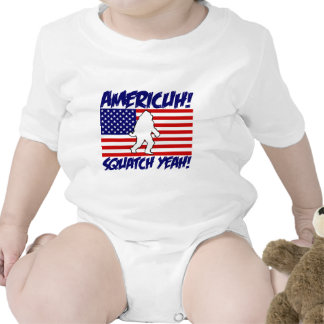 America Squatch Yeah Tee Shirts