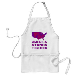 America Stands Together - Centrist / Moderate Gear Standard Apron