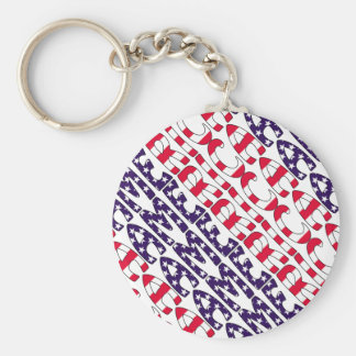 America Stars and Stripes Key Chains