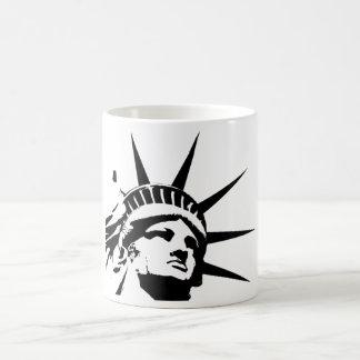 America Statue of Liberty Basic White Mug