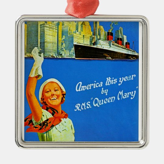 America This Year by RMS Queen Mary Christmas