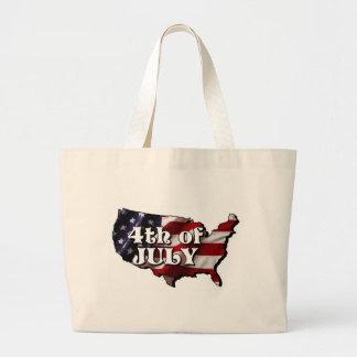 America Jumbo Tote Bag