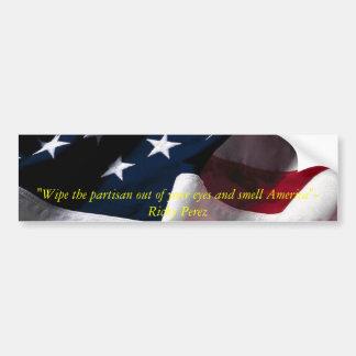 America-Undivided Bumper Sticker