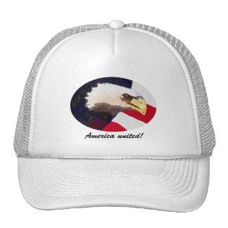 America United cap Mesh Hat