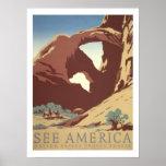 America Vintage Travel Posters