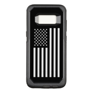 America White OtterBox Commuter Samsung Galaxy S8 Case
