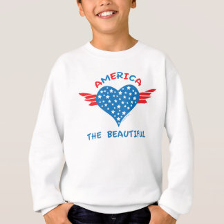 America Winged Heart Sweatshirt
