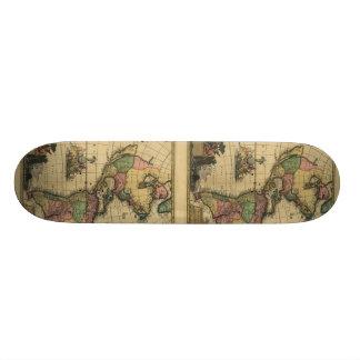 Americam utramque - North & South America Map Skate Board Decks