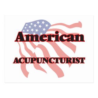American Acupuncturist Postcard