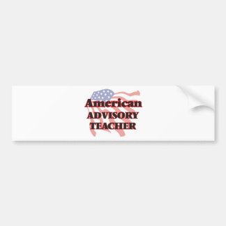 American Advisory Teacher Bumper Sticker