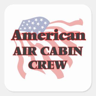 American Air Cabin Crew Square Sticker