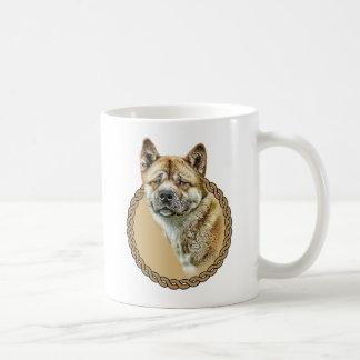 American Akita 001 Coffee Mug