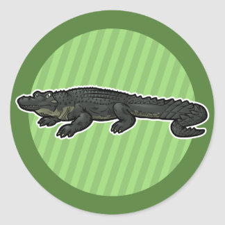 American Alligator Classic Round Sticker