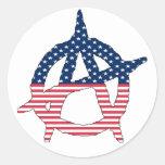 American Anarchy Sticker